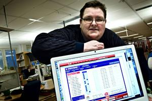 Spelexpert Carl-Johan Goth spikar, som många andra, Jeppas Maxi när det är jackpot på V75.