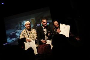 Priset togs emot av Sofie Isaksson (till höger).Foto: Håkan Risberg