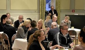 Näringsrikt. Lindesbergs kommun arrangerade tillsammans med föreningen Upplev Lindesberg en företagsdag.