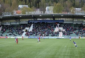 Snart kan åskådarna på Norrporten Arena vara fullt uppkopplade under matcherna.