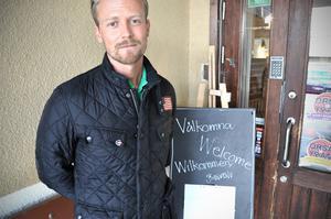 Klas Nygren när man öppnade asylboende för snart ett år sedan.