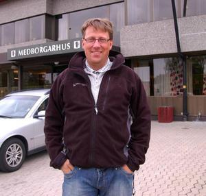 Anders Häggkvist, nytt kommunalråd för centern i Härjedalen efter Klas Hallman.  Foto: Leif Eriksson