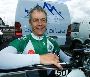 Lars Myrberg, från Falun vann VM-guld för veteraner i Men 55-59.