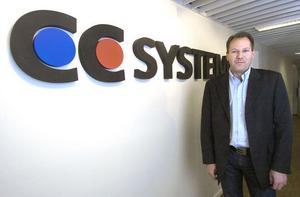 Peter Lageson tillträdde som vd hos CC Systems hösten 2008, bara några veckor innan den ekonomiska krisen slog till. Nu har företaget bytt namn till CrossControll och upplever en markant uppgång.
