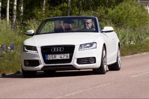 Audi A5 Cab.  Foto: Christer Lönnroth