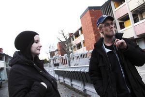 Mattias Håberg har bott på Stenbackens boende- och arbetskooperativ i två månader.