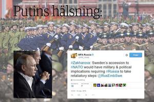 Ett exempel på hur gränsen mellan Rysslands public diplomacy och aktiva åtgärder suddas ut handlar om svensk Nato-debatt.