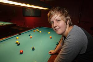 Caroline Roos inleder VM i 10-ball i dag torsdag.
