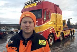 Daniel Åslund har tröttnat på bilister som inte visar hänsyn och kör fort när han ska utföra sitt arbete. I veckan var han nära att avbryta en bärgning på motorvägen.