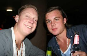 Klubb 34. Fredrik och Markus