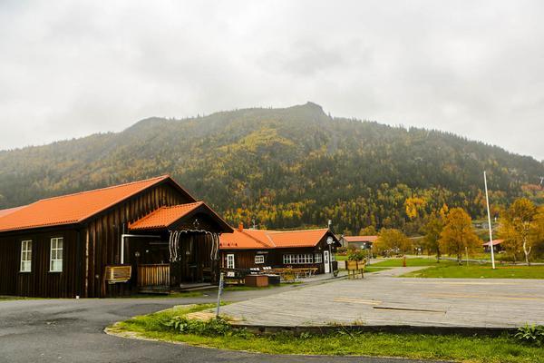 Stora logen på Risnäset där kommunen nu har sitt dagcenter.