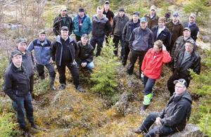 20 skogsmaskinförare från Strömsundsområdet fick lära sig respekt för flora och fauna vid den gröna körkorsundervisning som de meddelades av Skogsstyrelsens Peter Lundgren och Gullik Nilsson.