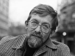 Kontroversiell samhällskritiker. Lars Gustafsson  1978.