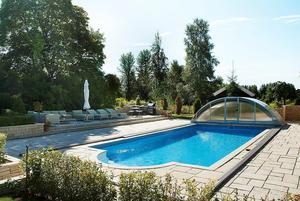 Plats 10 på Hemnets Klicktoppen för vecka 38 är en herrgård i Nyhammar, Ludvika kommun, med 29 rum, pool och tennisbana.