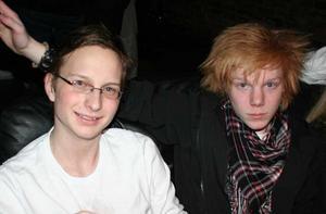 Konrad. Rikard och Viktor