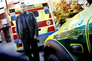 Peter Bergh har tidigare varit verksamhetschef för ambulansen i Gävleborg.