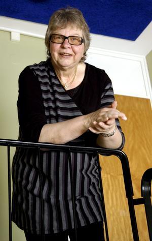 Tuffa men intressanta år. Så sammanfattar Lilian Stenqvist sina år som ordförande i omsorgsnämnden. BILD: BIRGITTA SKOGLUND