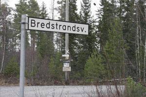 Grannar är förargade över den avverkning som de menar att kd-politikern Peter Fagerhov gjort på andras mark här vid Bredstrandsvägen i Jättendal.