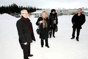 Gottfrid Jonsson tar emot Christina Lugnet för en späckad dag i Härjedalen.