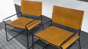 Stilrena möbler med retroinspiration och lyxig läderklädsel från Ox Denmarq.
