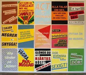 Affischer (2003 - 2006), screentryck