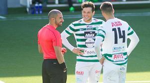 Rodrigo Britto de Toledo, gjorde mål för VSK U21 mot Gefle U21 framspelad av Nikola Durovic.