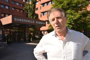 João Pinheiro, ordförande i barn- och utbildningsnämnden i Sundsvall.