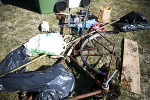 Nygårdsskolans elever hittar flera hundra kilo skräp på den årliga städdagen.