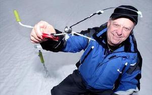 Borlängebon Folke Andersson är näst bäst i världen på mormyska. I helgen tog han silver i VM i polska Augustow.– Det var hårt ända in på målsnöret, säger han om framgången.Foto: Tomas Nyberg