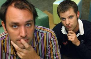 Trey Parker och Matt Stone.