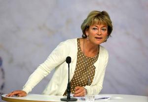 Lena Adelsohn Liljeroth är som motvalls käring, säger ständigt nej, nej och nej när det gäller svenska OS-planer. Det är irriterande.