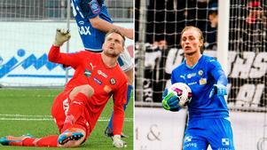 Oscar Jansson och Jacob Rinne - vem får chansen mot Häcken i dag?