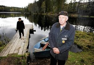 Leif Larsson, fisketillsyningsman inom Sellnäs FVO, gör sig redo för sin sista säsong som