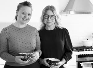 Åsa Kax Ideberg från Hedemora och Anna-Karin Murén från Valbo har skrivit, designat och illustrerat boken