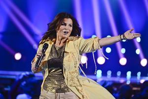 Carola under Melodifestivalen 2013.