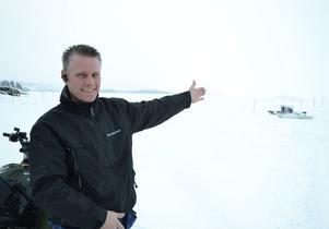 Arrangören Glenn Ocklund, Landracing, har i år förlängt fartrekordbanan till fyra kilometer.