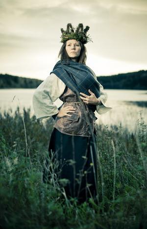 Bredfjällsdrottning. En fotobok har givit 1800-talskvinnan Anna Jonsdotter nytt liv.Foto: Skribenterna