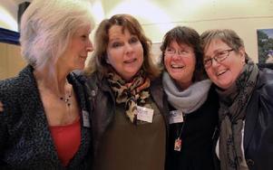 Nu är de förebilder: Maria Hultén, Mora kommun, Katrin Lindholm, Avesta kommun, Lena Broman, Mora kommun, och Gudrun Strandberg, Avesta kommun. Foto: Eva Högkvist