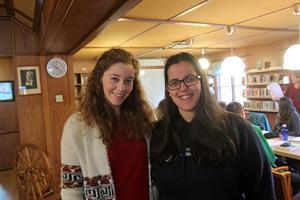 Ana Carla Lopes och Graca Cunha från Portugal har fått anställning vid folktandvården i Malung.
