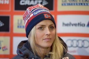 Den norska skiddrottningen Therese Johaug har åkt fast för dopning. Arkivbild.Maja Suslin/TT