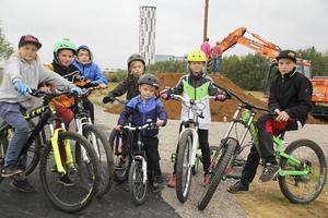 Liam Flygerfeld, Mille Andersson, Emuil Wallin, Oliver Skogslund, Charlie Skogslund, Noel Westerlund och William Olsson bevisar att allt är möjligt. För att förverkliga sin dröm om en egen cykelpark gick de helt enkelt upp till kommunen och bad om hjälp.