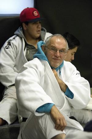 Leo Germeys från Stocka är en 66 år ung judoentusiast som har hållit på med sin sport i mer än halva livet,