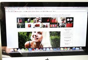– Jag hoppas att bloggen växer och blir ännu större i framtiden. Mitt mål är att kunna försörja mig på den, säger Linn Ahlborg