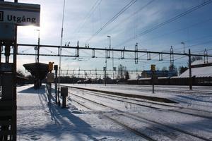 Avesta-Krylbo. Krylbo stationsområde är komplext och svårt att förbättra utan att hela stationsområdet påverkas.