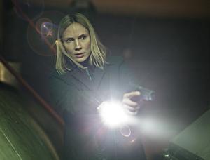 """Moa Gammel på en av de första bilderna från """"Jordskott"""" säsong 2."""