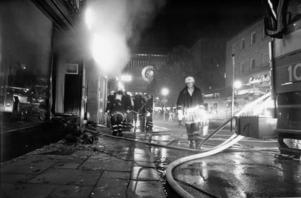 Branden på Priscilla 1 november 1983.