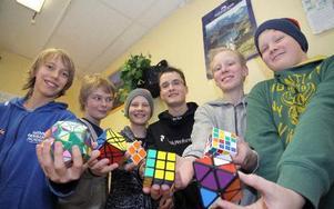 Från vänster: Per Sporre, Olle Nilsson, Felix Lehtola, Gustav Johansson, Mathias Bengtsson och Hannes Juujärvi. FOTO:?Seth Jansson