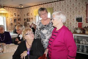 Birgith Persson, Elin Jonsson och Thea Jonsson har varit med i Ljusdals demensförening sedan den bildades för 25 år sedan.