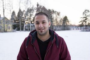 Odisho Chimon från Syrien kom till Rossön med en vän för tre månader sedan.– Det är väldigt bra människor här, säger han.