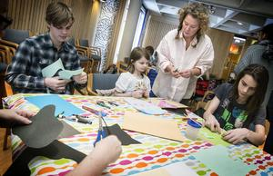 Familjen Hemå fick hjälp och kreativ vägledning av Stina Wirsén.